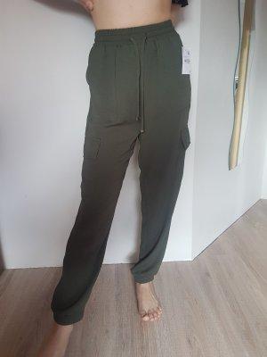 C&A Pantalon kaki multicolore