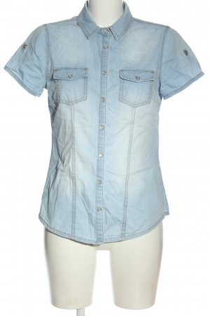 C&A Yessica Denim Shirt blue casual look