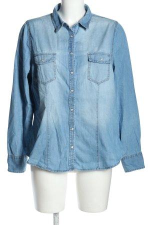 C&A Yessica Camicia denim blu stile casual