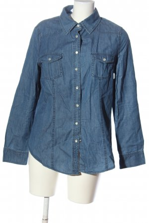 C&A Yessica Denim Shirt blue casual look