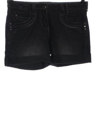 C&A Yessica Short en jean noir style décontracté