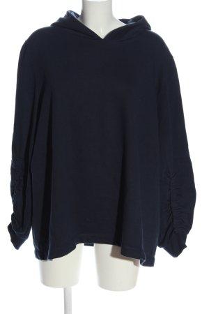 C&A Yessica Bluza z kapturem niebieski Warkoczowy wzór W stylu casual