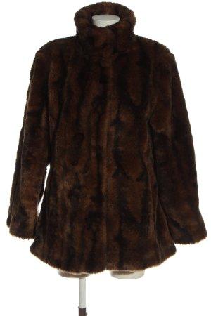 C&A Yessica Cappotto in eco pelliccia marrone stile casual