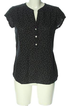 C&A Yessica Bluzka z krótkim rękawem czarny-biały Na całej powierzchni
