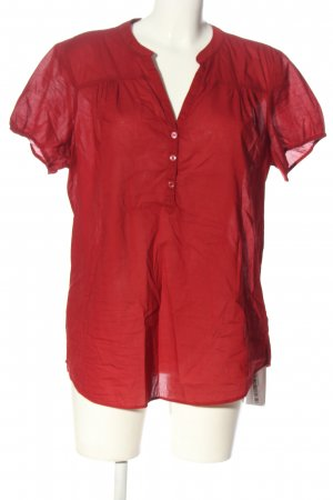 C&A Yessica Kurzarm-Bluse rot Business-Look