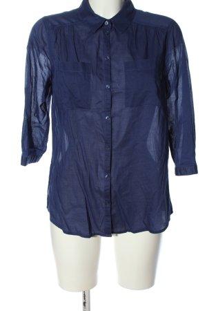 C&A Yessica Shirt met korte mouwen blauw zakelijke stijl