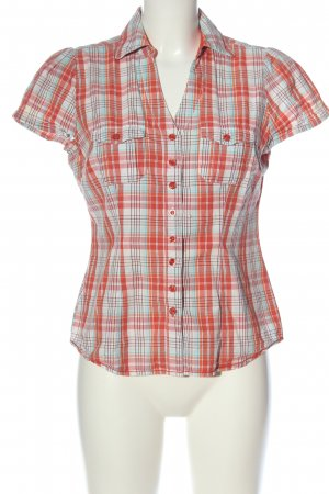 C&A Yessica Shirt met korte mouwen geruite print casual uitstraling