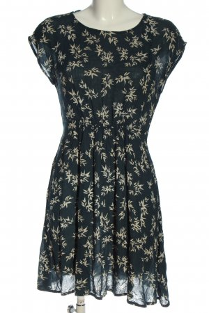C&A Yessica Shortsleeve Dress green-natural white allover print casual look