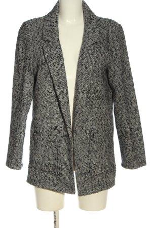 C&A Yessica Cappotto corto grigio chiaro puntinato stile casual