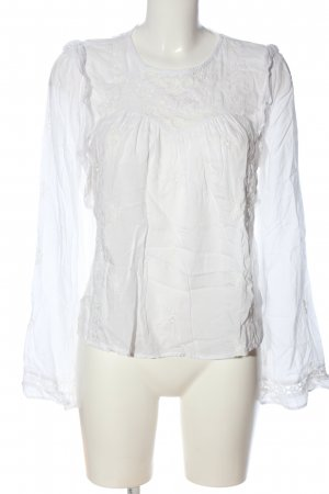C&A Yessica Long Sleeve Blouse white business style