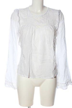 C&A Yessica Bluzka z długim rękawem biały W stylu biznesowym