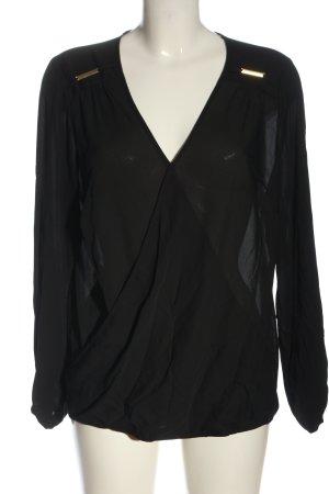 C&A Yessica Long Sleeve Blouse black elegant