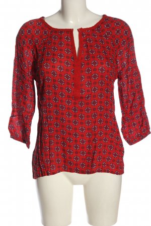 C&A Yessica Langarm-Bluse Allover-Druck Casual-Look