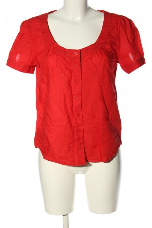 C&A Yessica Linen Blouse red casual look