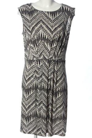 C&A Yessica Sukienka mini czarny-biały Łączone wzory W stylu casual
