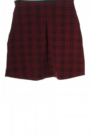 C&A Yessica Minirock rot Karomuster Casual-Look