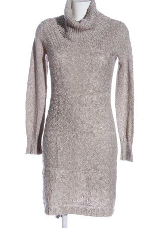 C&A Yessica Swetrowa sukienka kremowy Melanżowy W stylu casual