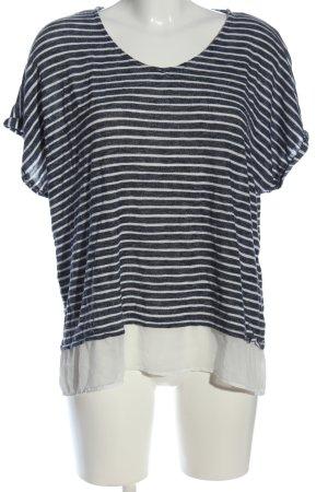 C&A Yessica Koszulka w paski niebieski-biały Wzór w paski W stylu casual