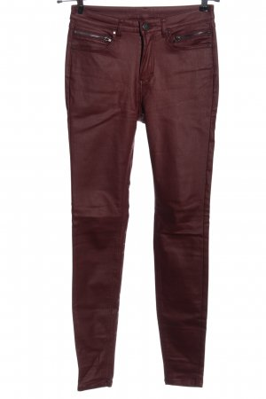 C&A Yessica Röhrenhose rot Casual-Look