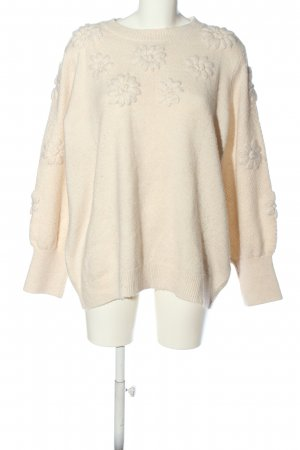 C&A Yessica Crewneck Sweater cream casual look