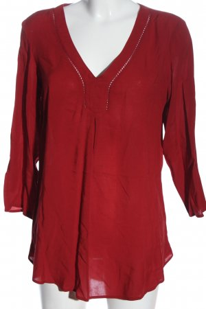 C&A Yessica Schlupf-Bluse rot Casual-Look