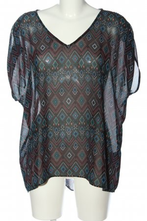 C&A Yessica Slip-over Blouse allover print classic style
