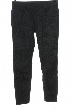 C&A Yessica Slim Jeans black-light grey allover print casual look
