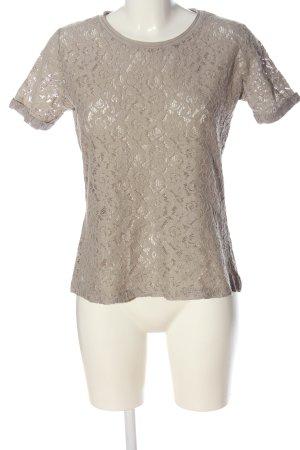 C&A Yessica Koronkowa bluzka w kolorze białej wełny Na całej powierzchni