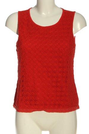 C&A Yessica Koronkowy top czerwony W stylu casual