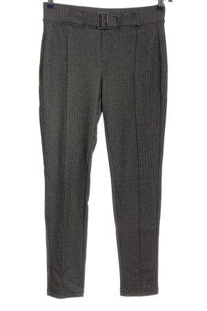 C&A Yessica Pantalon en jersey noir-blanc imprimé allover style décontracté