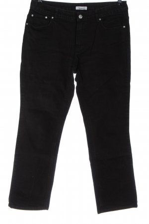 C&A Yessica Straight-Leg Jeans schwarz Casual-Look