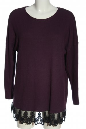 C&A Yessica Pull tricoté violet style décontracté