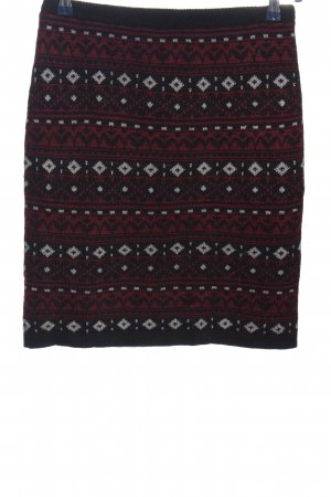 C&A Yessica Knitted Skirt allover print casual look