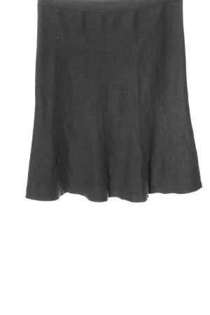 C&A Yessica Falda de punto gris claro moteado look casual