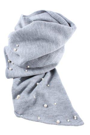 C&A Yessica Écharpe en tricot gris clair style décontracté