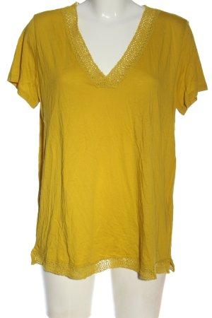 C&A Yessica Strickshirt blassgelb Casual-Look