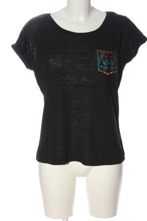 C&A Yessica T-shirts en mailles tricotées noir style décontracté