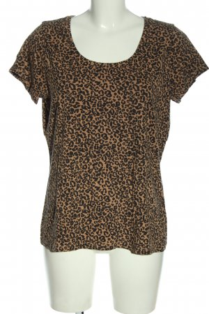 C&A Yessica T-Shirt schwarz-nude Leomuster Casual-Look