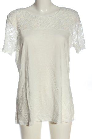 C&A Yessica T-shirt blanc torsades style décontracté