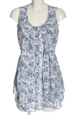 C&A Yessica Sukienka koszulowa biały-niebieski Na całej powierzchni