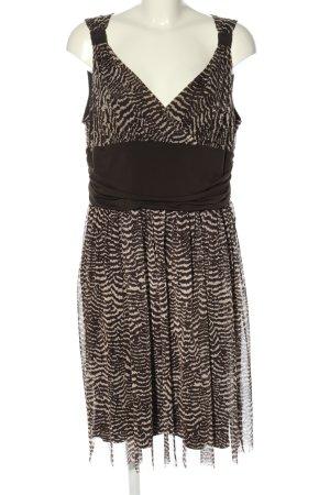 C&A Yessica Trägerkleid schwarz-weiß abstraktes Muster Casual-Look