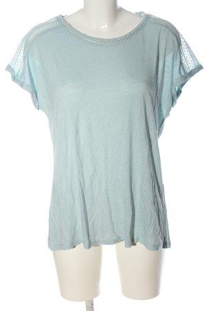 C&A Yessica Boothalsshirt blauw casual uitstraling