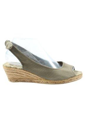 C&A Yessica Wedge Sandals khaki casual look