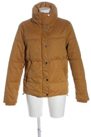 C&A Yessica Veste d'hiver brun motif de courtepointe style simple