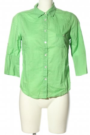 C&C California Camicia blusa verde stile casual