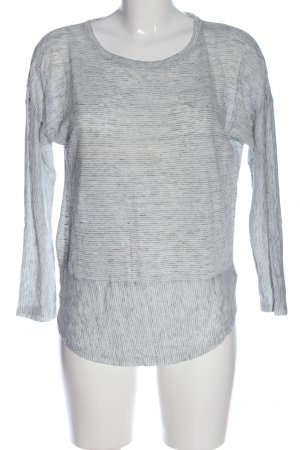 C&C California Linen Blouse light grey flecked casual look