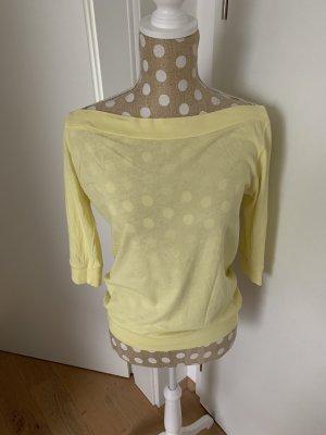 C&C California Camicia giallo chiaro-giallo pallido
