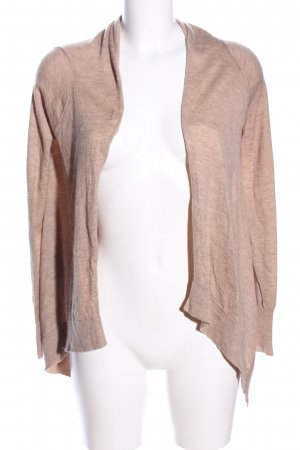 C&C California Knitted Cardigan nude flecked casual look