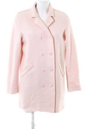 C'est Paris Wollmantel pink Casual-Look