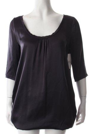 C'est Tout Kleid schwarz-anthrazit schlichter Stil